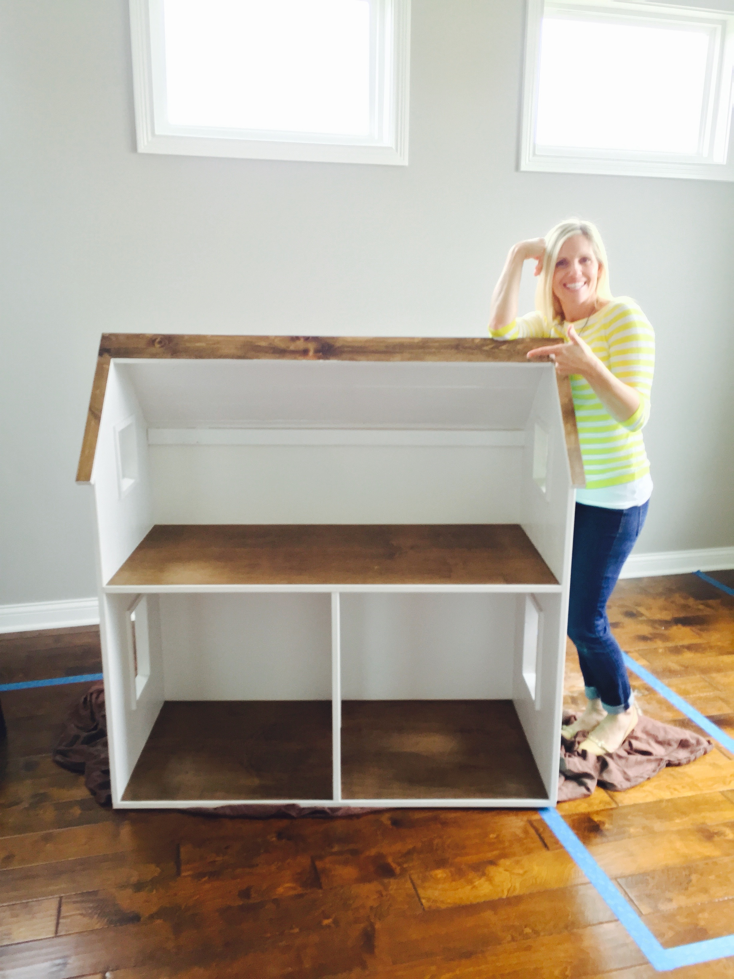 DIY American Girl Doll House