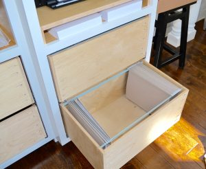 custom file drawers