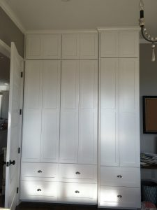 floor to ceiling cabinets
