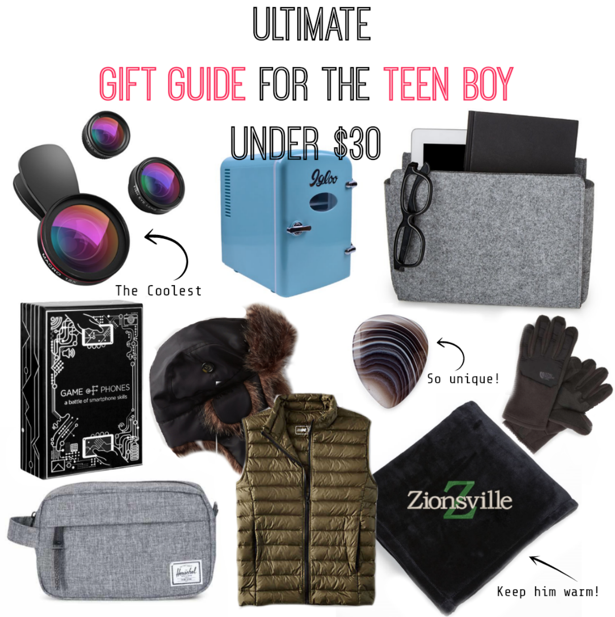 gift guide for teen boy