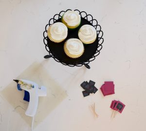 how to make box cupcakes look good