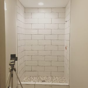 diy bathroom tile