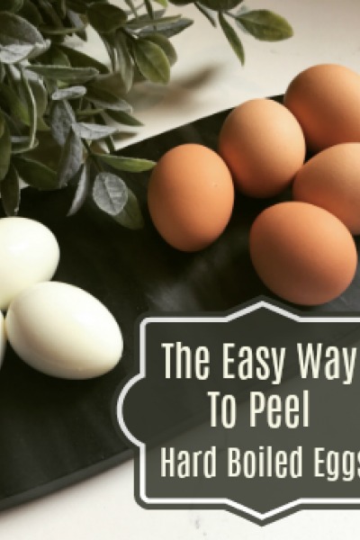 best way to peel eggs