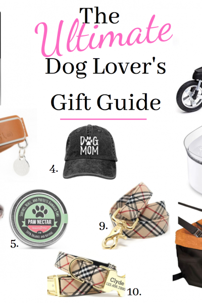 gift guide for dog lover