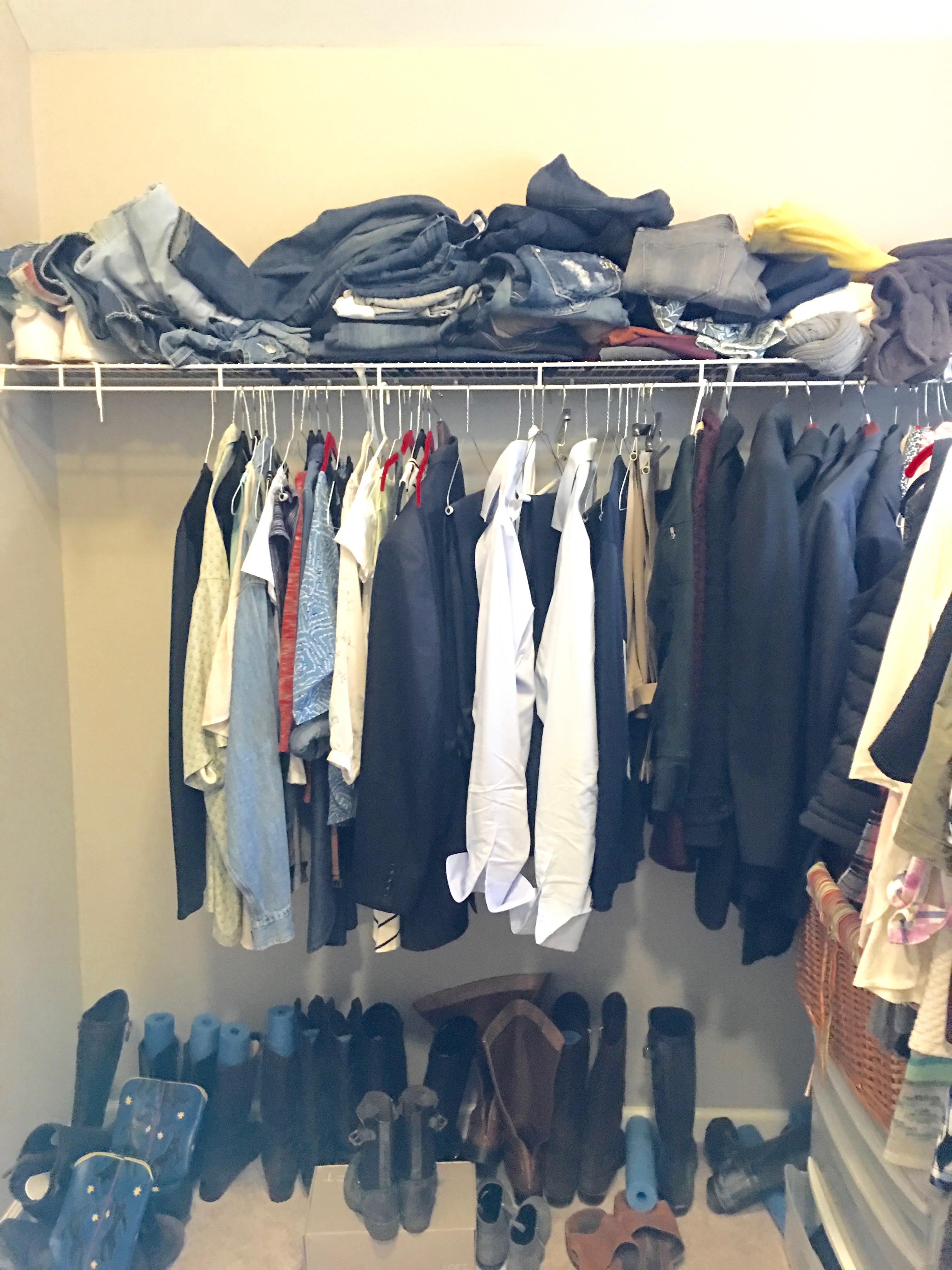 best master closet storage