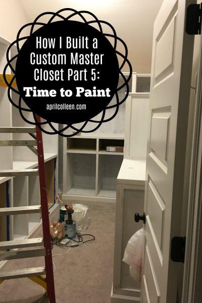 how to build a custom closet
