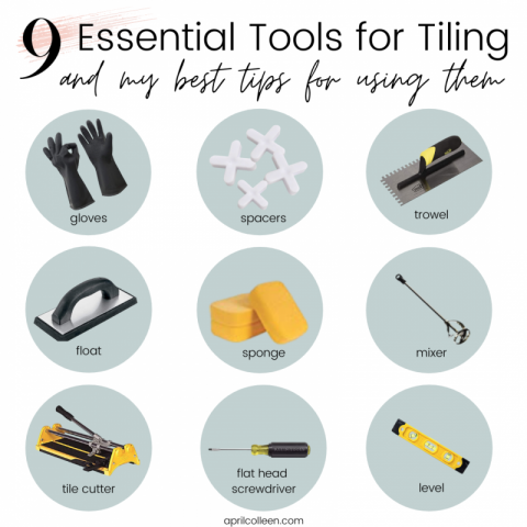 tools needed to tile