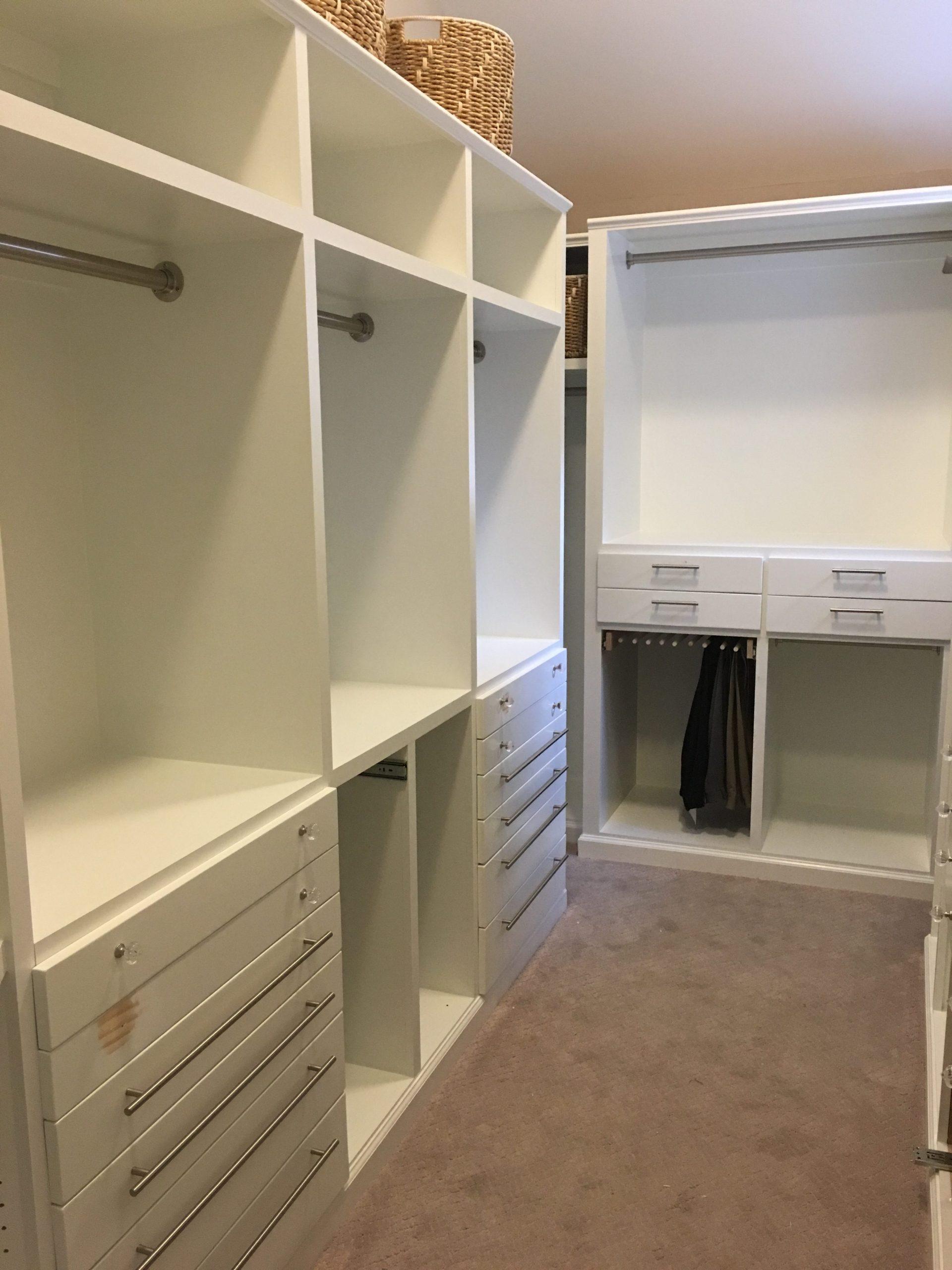 How to build a master closet
