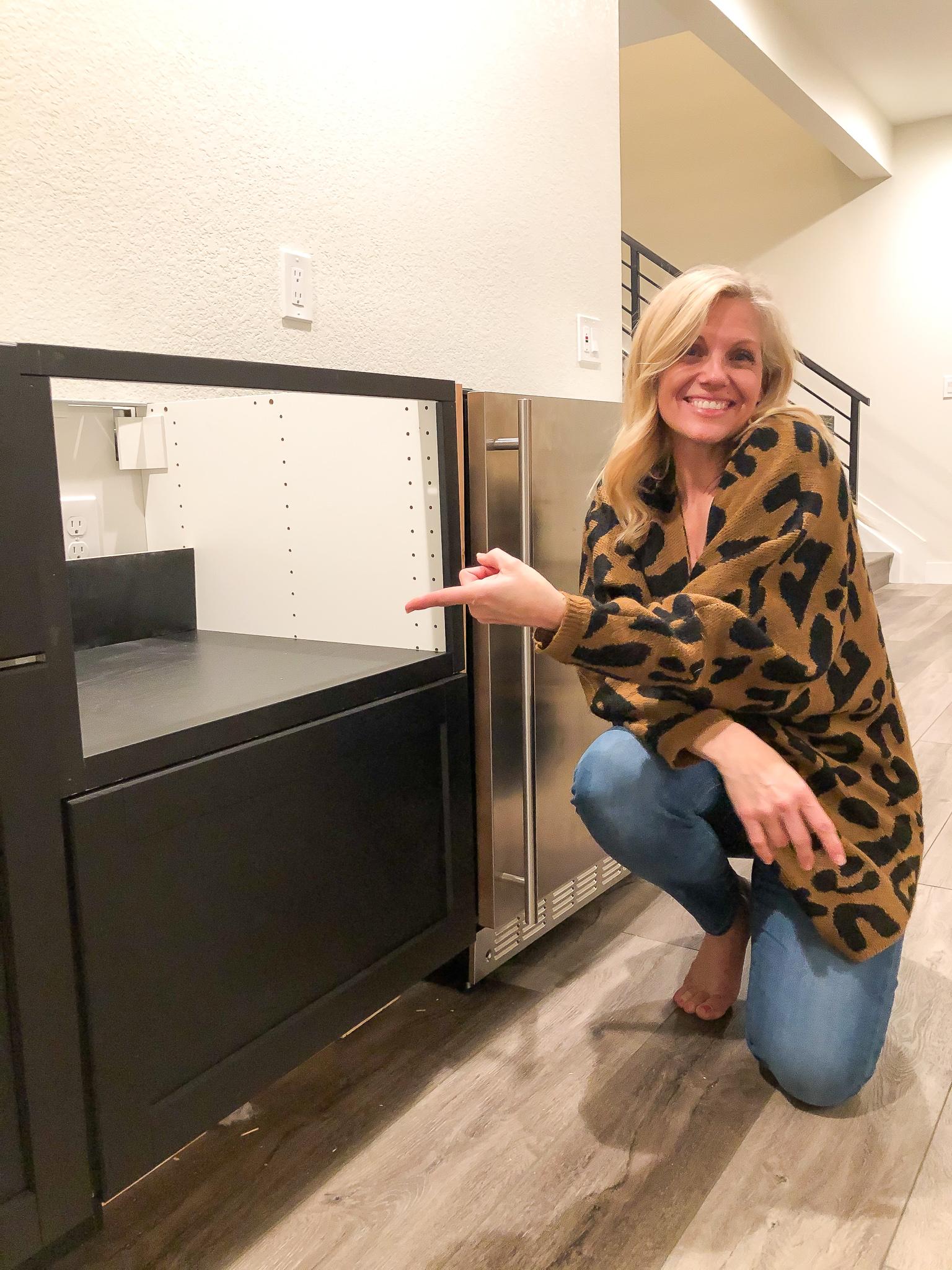 Ikea Hack - Microwave Cabinet