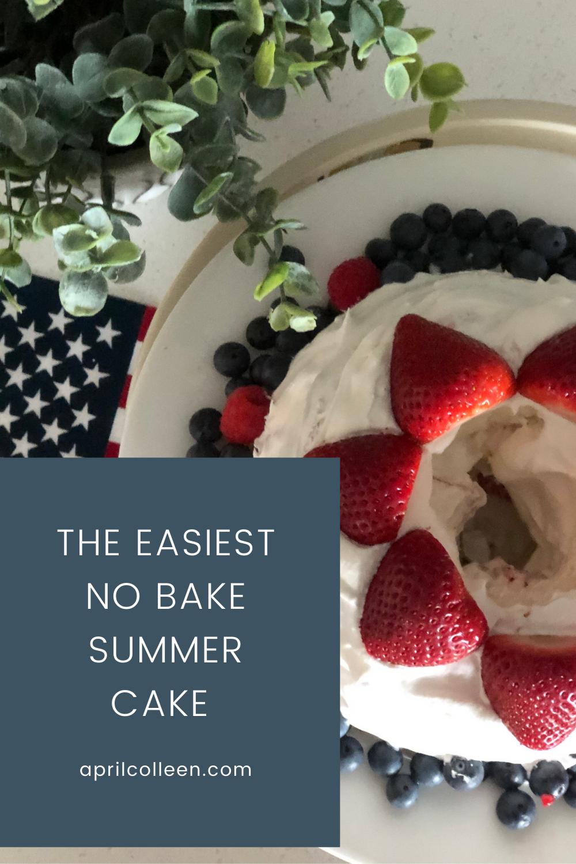 easiest no bake cake