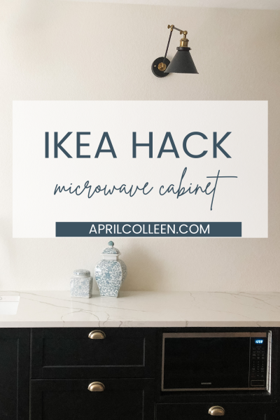 Ikea Microwave Cabinet Hack