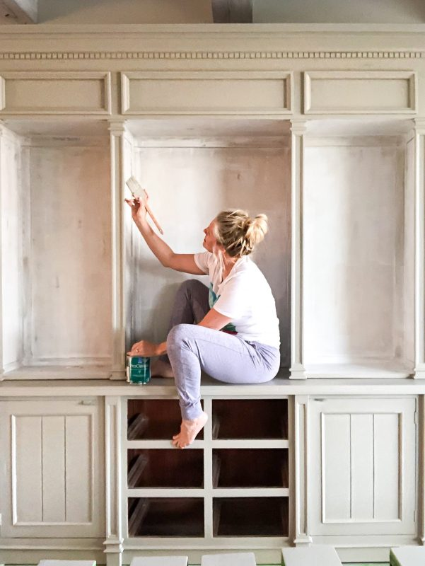 two-toned painted furniture