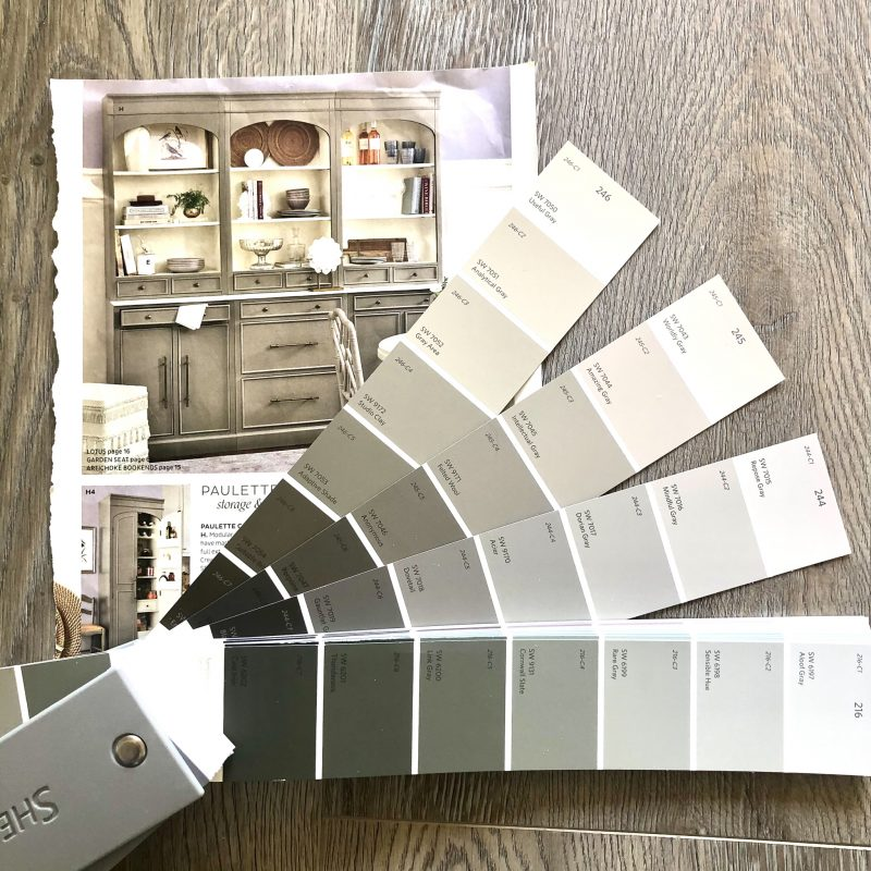 choosing paint for furniture