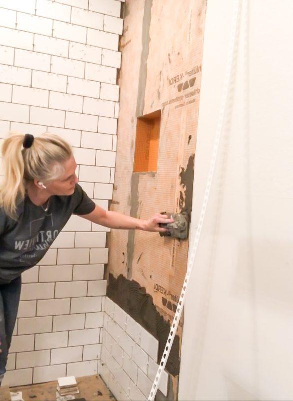 How to tile a bathroom