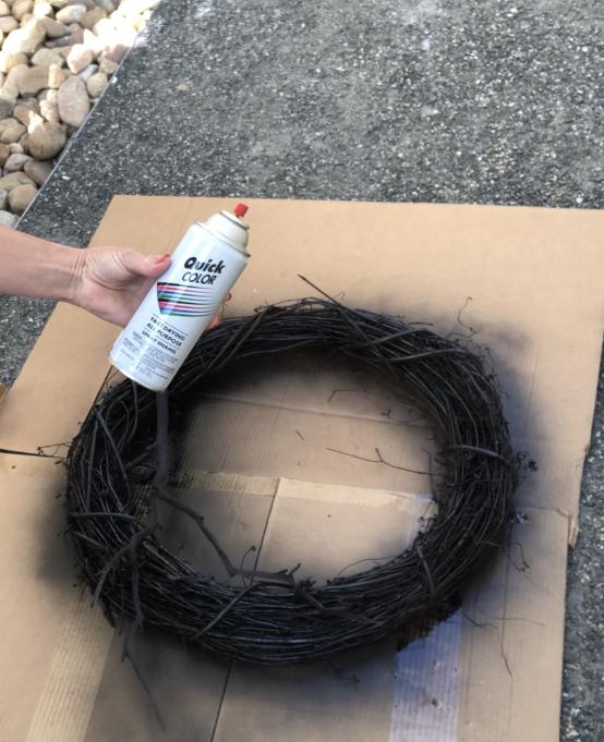 cheap black spray paint